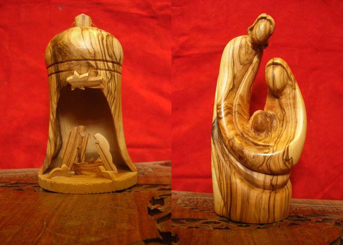 Presepi Di Legno Betlemme : Presepi di betlemme in legno di ulivo
